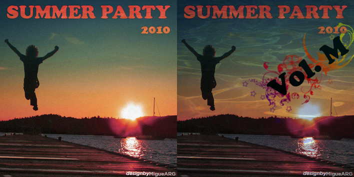 Summer Party 2010 Cd Cover