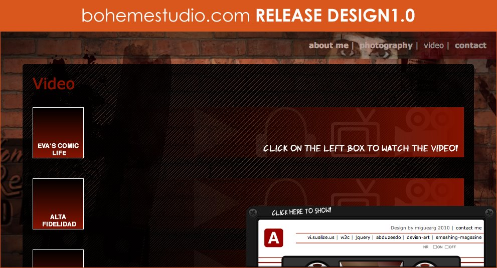 bohemestudio.com RELEASE DESIGN 1.0 (14Feb2011)