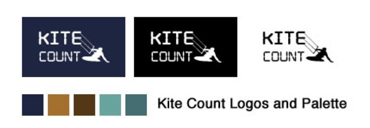 Kite Count Design Logo Draft