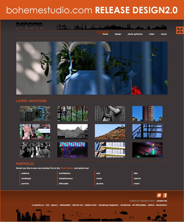 bohemestudio.com RELEASE DESIGN 2.0 (15May2011)