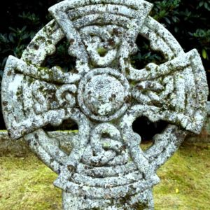 2006 - Celtic cross - Lanhydrock, England