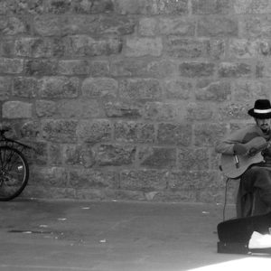 2007 - Spanish Guitar&Man&Bicycle - Barcelona, Spain