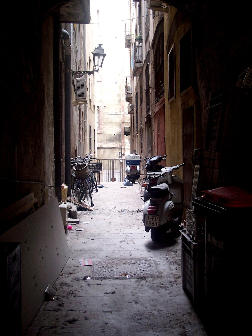2008 - Lonely Street - Barcelona,Spain