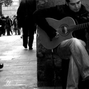2008 - Spanish Guitar&Man&People - Barcelona, Spain