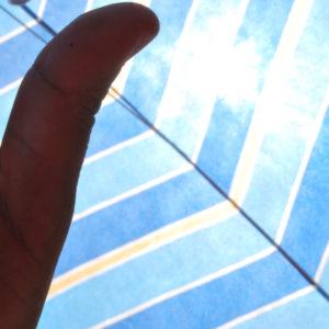 2009 - Blue hand - Malaga, Spain