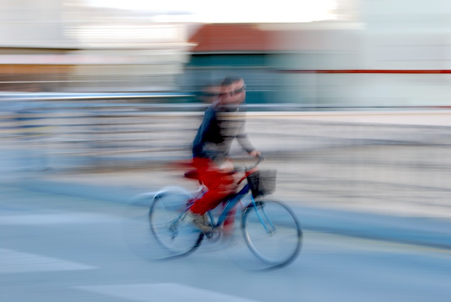 2009 - Distorsion cyclist - Malaga, Spain