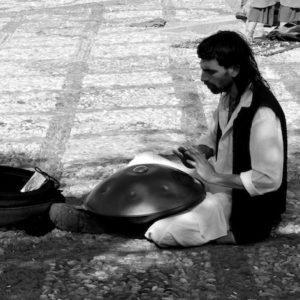 2009 - Hang Drum&Man - Granada, Spain
