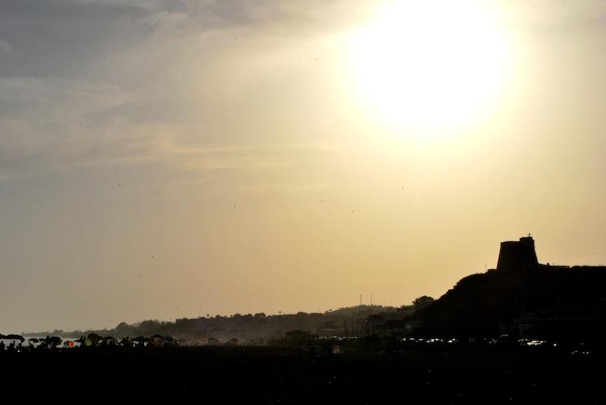 2009 - La cala Silhouette - Ricon de la Victoria, Spain