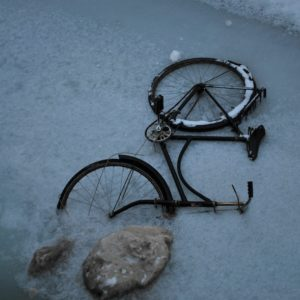 2010 - Bicycle on ice - Copenhaguen, Denmark