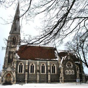 2010 - Gothic church&snow - Copenhaguen, Denmark