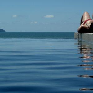 2010 - Girl,Island&Swimming Pool - Sematan, Malaysia