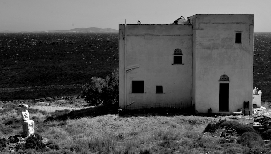 2011 - Statue&House - Tinos, Greece