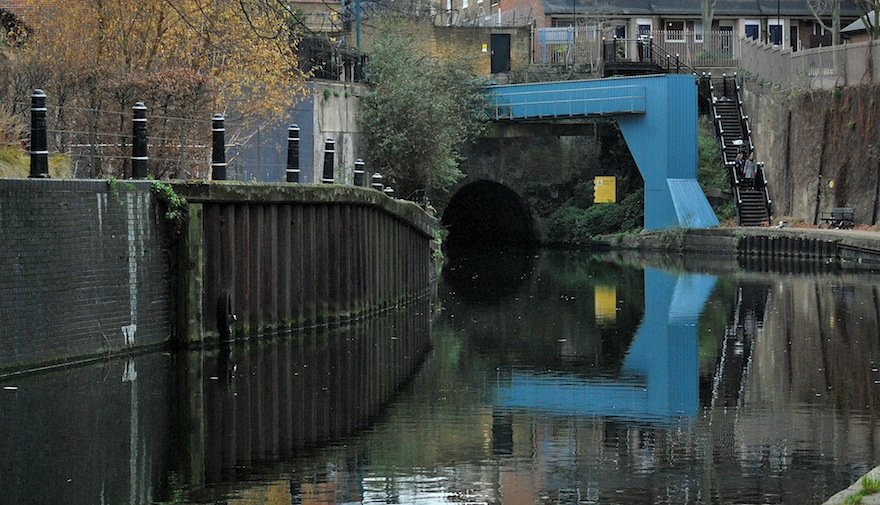 2012 - Canal reflections - London, England