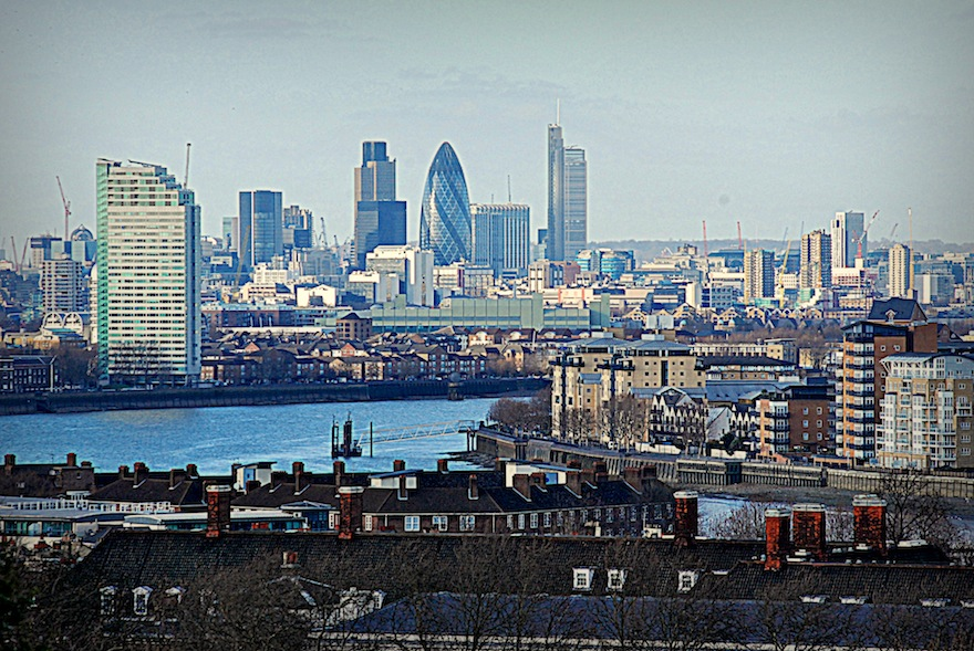 The city&Thames – Skyline