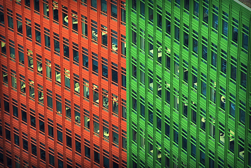 Matilda in orange and Green – Architecture
