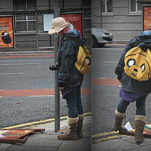 2012 - The girl who played with poster - Dublin, Ireland