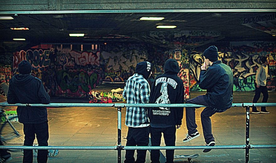 2012 - The graffiti boys - London, England