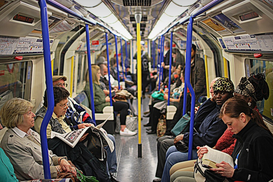 2012 - The tube scene - London, England