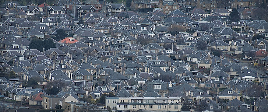 2013 - Little boxes on the hillside - Edinburgh, Scotland