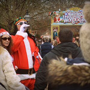 2013 - Bad Rastafari Santa - London, England