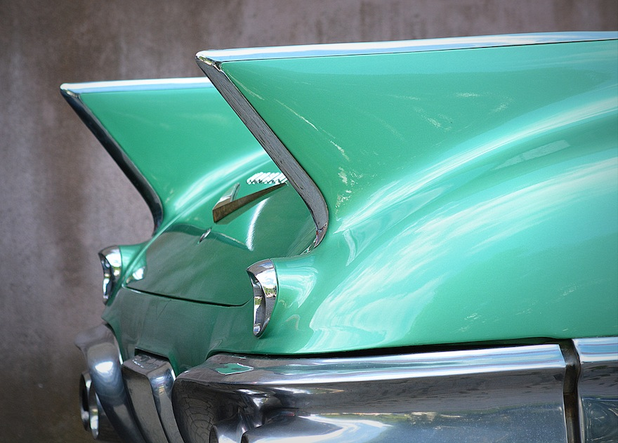 2013 - Vintage green batmobile - Oslo, Norway