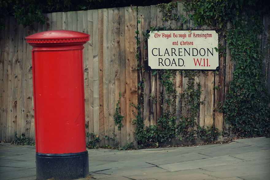 2014 - Clarendon Road - London, England