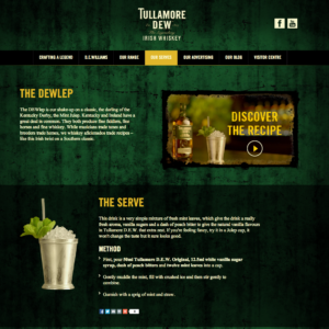 www.tullamoredew.com Desktop Product page