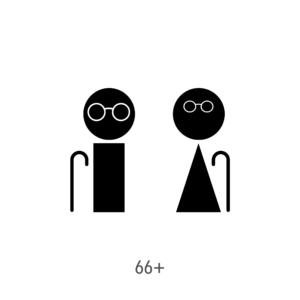 Age-Gender icon 66+