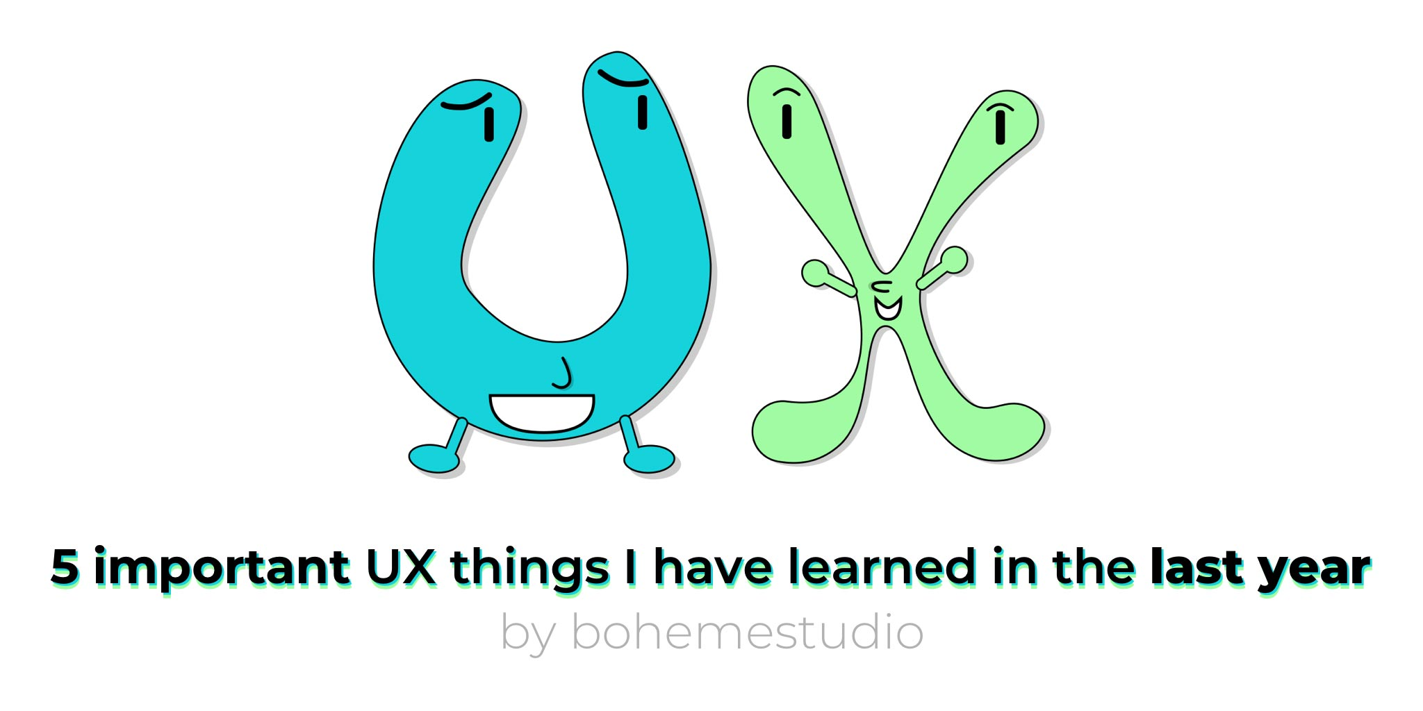 Cover - UX things I have learned - 2017