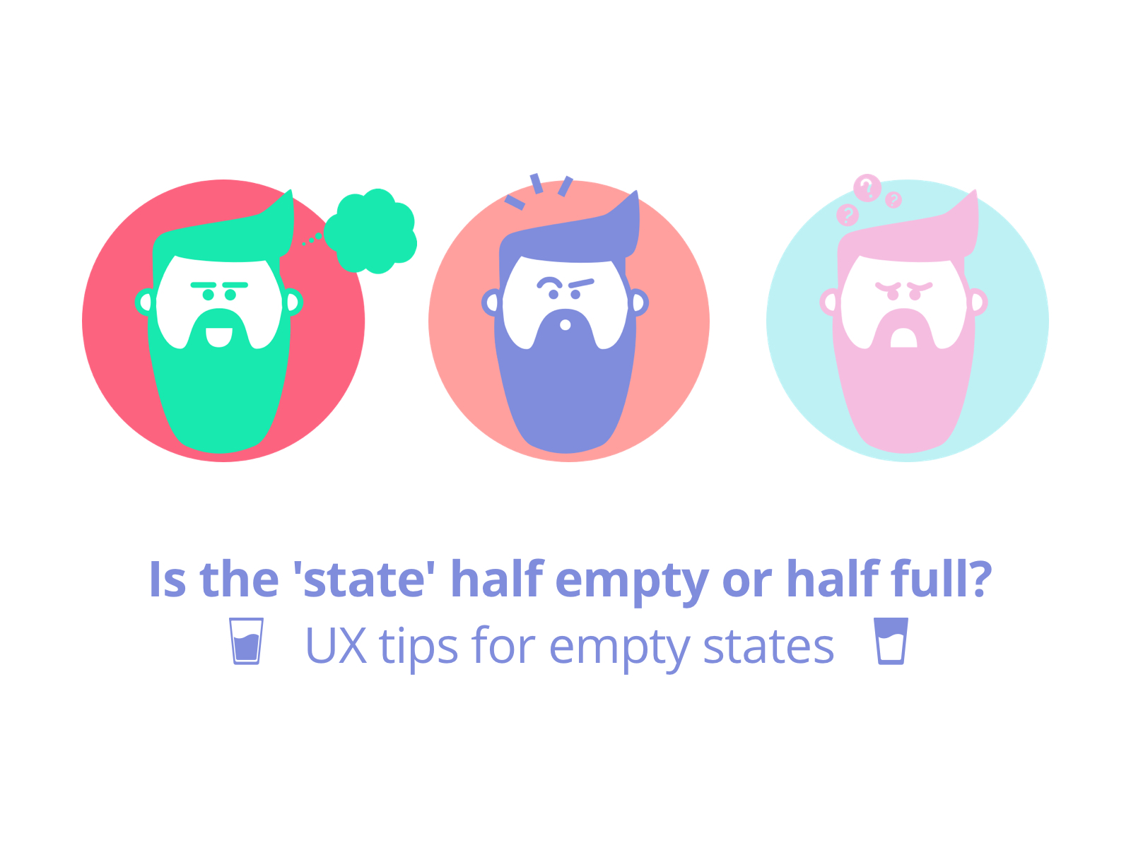 UX tips for empty states - Cover