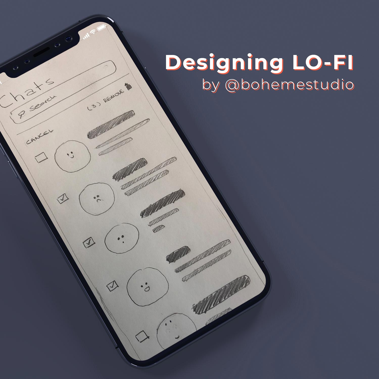 Designing Lo-fi (by bohemestudio) - Cover_square