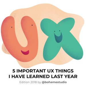 5 important UX things 2018 - Cover