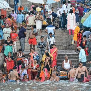 2018 - Morning routine - Varanasi, India