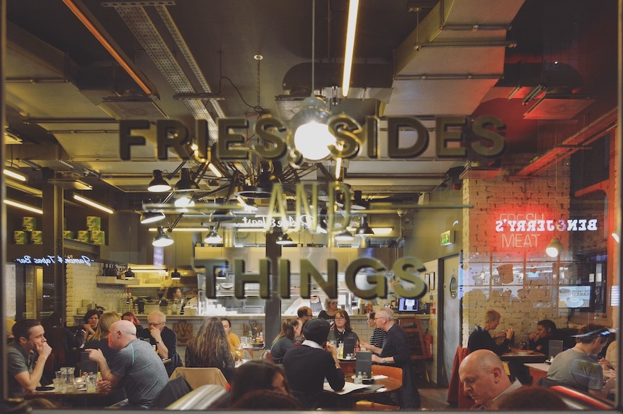 Fresh, sides and things – London, England
