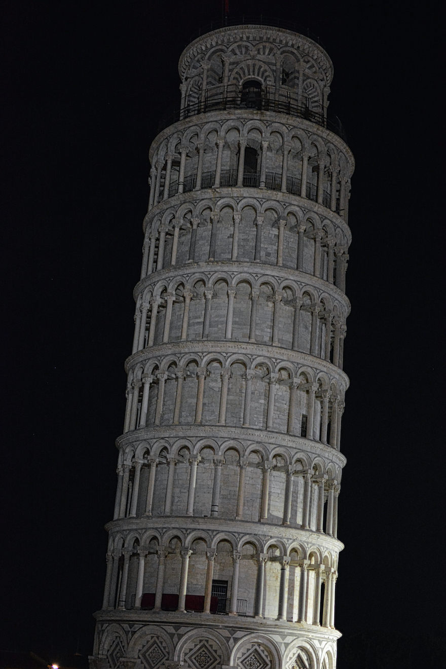 Leaning tower of Pisa – Pisa, Italy