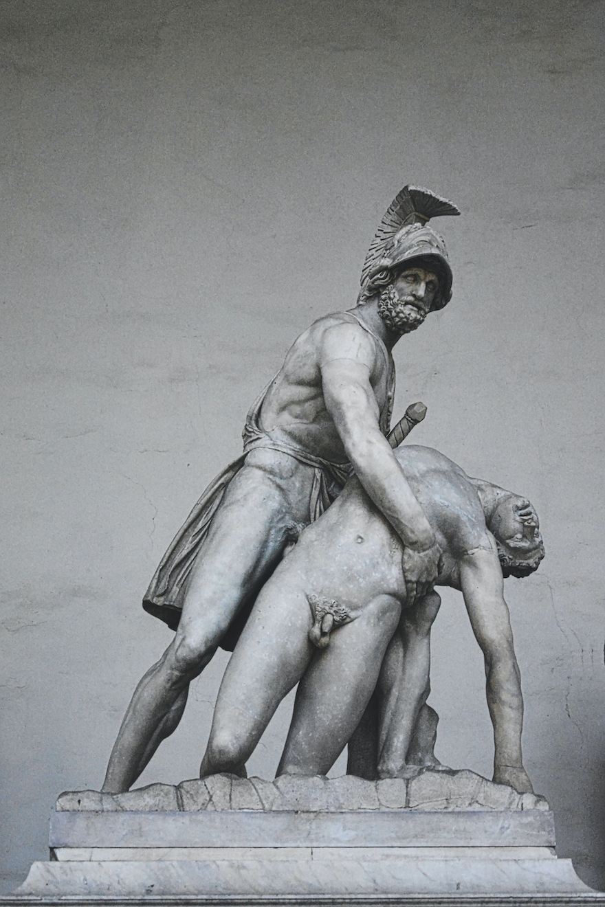 Menelaus Carrying the Body of Patroclus – Florence, Italy