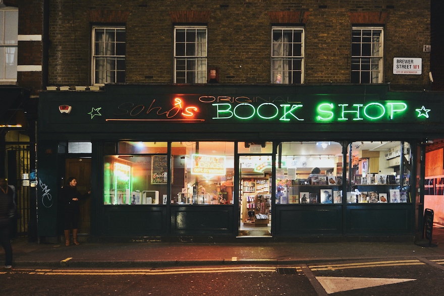 Soho's original book shop – London, England