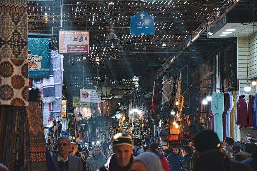 Souk – Marrakesh, Morocco